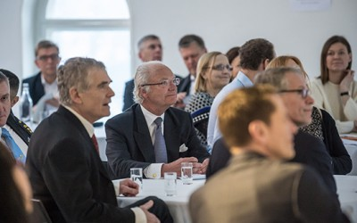 The King attends 'The Future of Leadership is Now' seminar